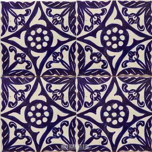Moroccan Blue Kitchen backsplash Tile