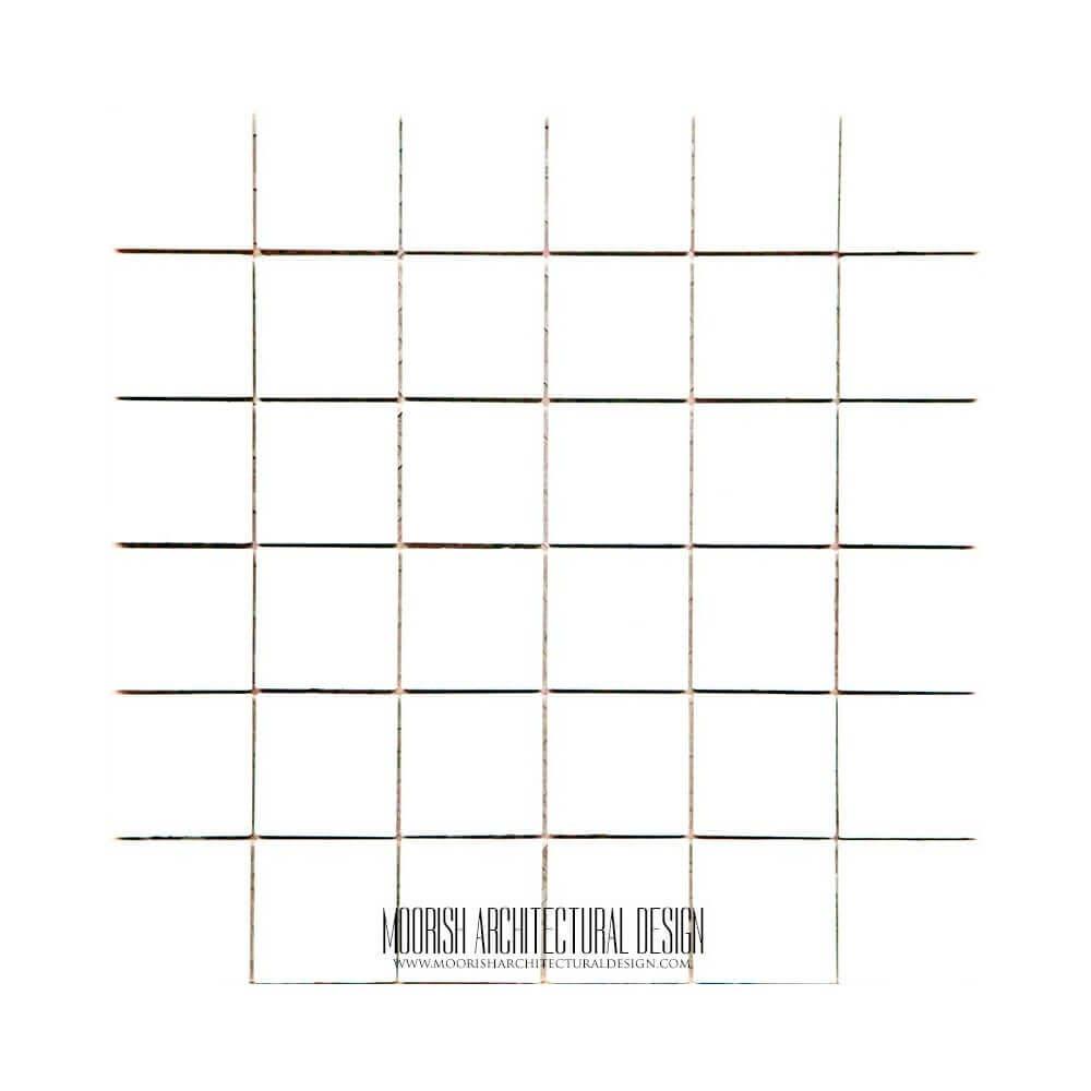 Glazed moroccan white ceramic tile white zellige moroccan white ceramic tile doublecrazyfo Image collections