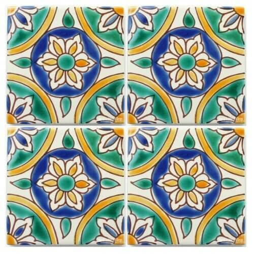 Green Mediterranean Tile