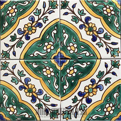 Green Portuguese Tile