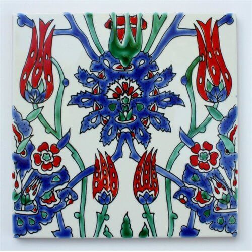 Iznik Tile San Francisco California