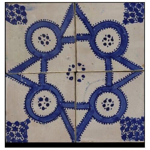 Blue Moroccan Tile San Diego