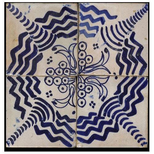 Blue Moroccan Tile Washington D.C