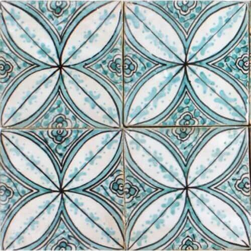 Hand Painted Tile New York