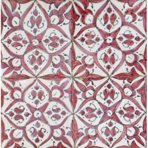 Hand Painted Tiles Santa Barbara California