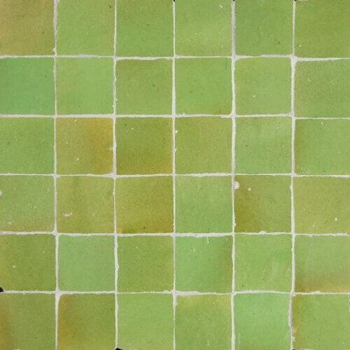 Green Moroccan Tile New York