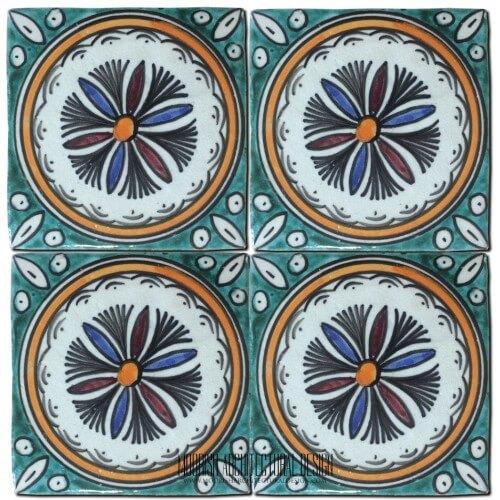 Mediterranean pool tiles Phoenix Arizona