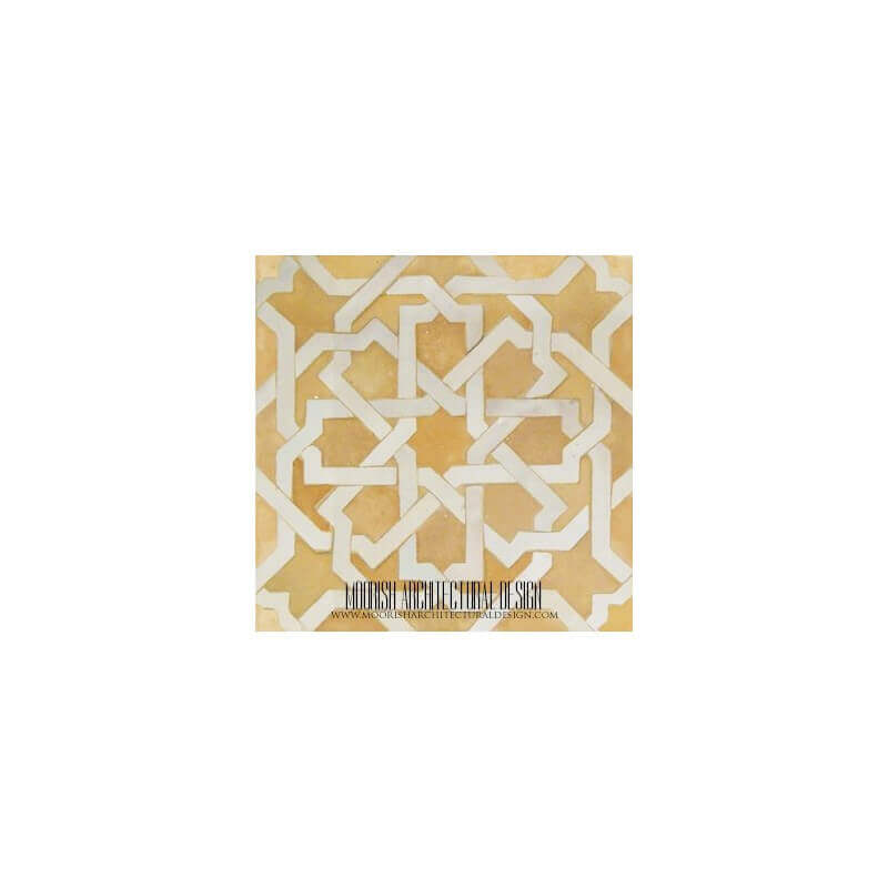Rustic Moroccan kitchen floor tile