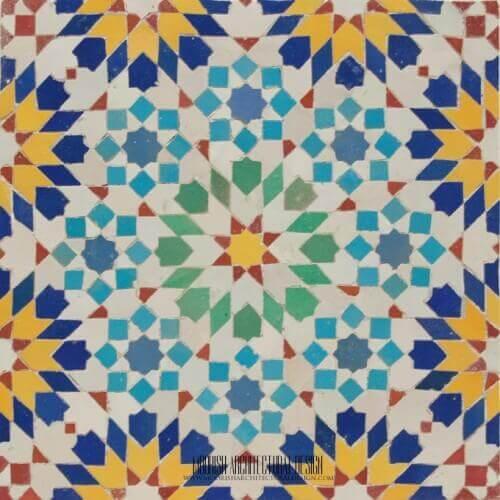 Moresque Tile 03