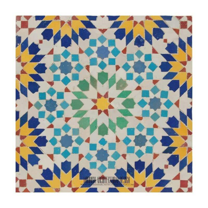 Moroccan Kitchen Tile Design