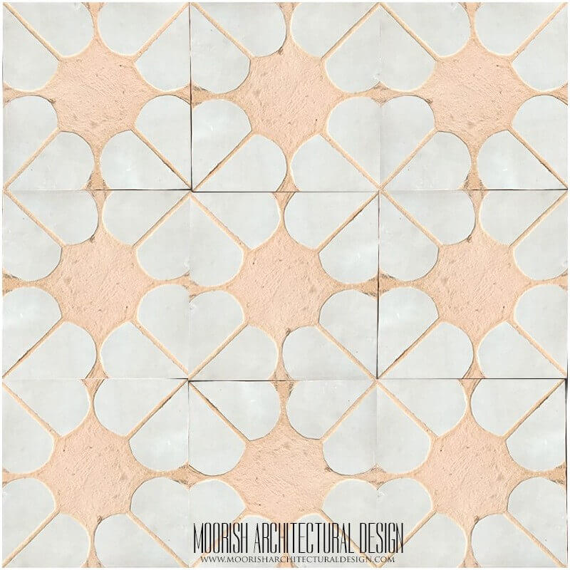 Rustic Kitchen Tile Moroccan