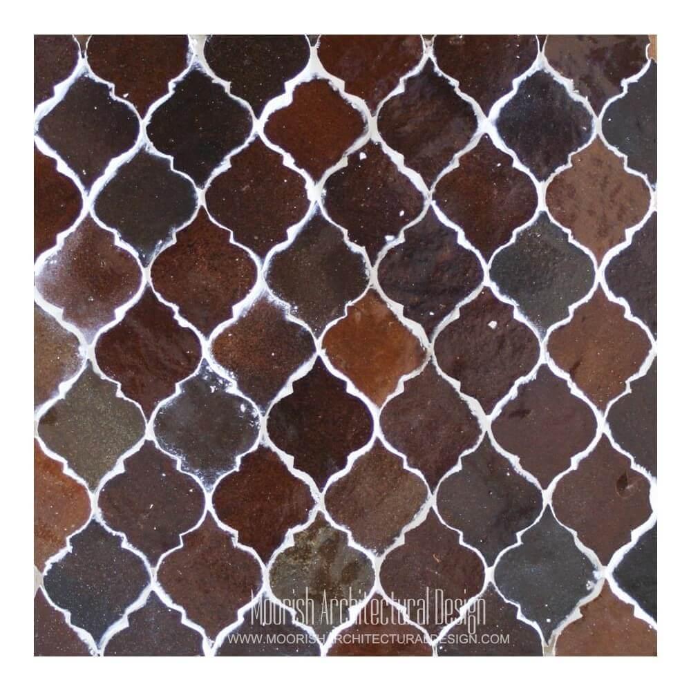 Moorish Arabesque Mosaic Tile