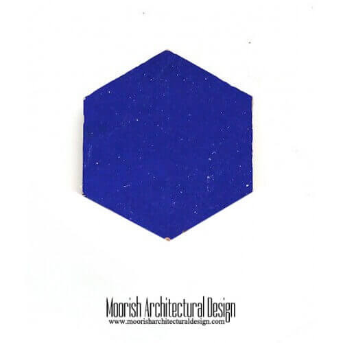 Blue Hex Tile