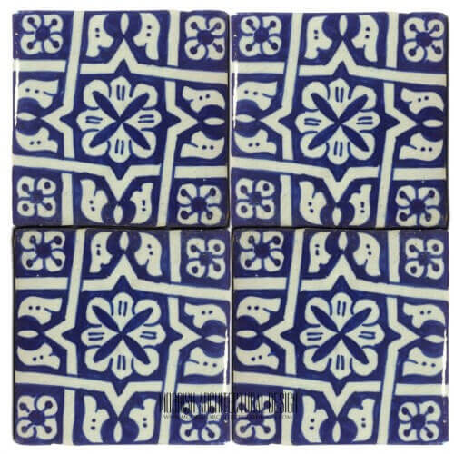 Blue mediterranean kitchen tiles design ideas for Fez tiles