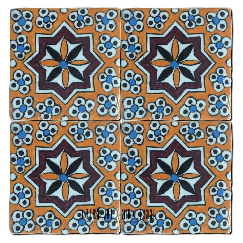 Mediterranean Kitchen Mastic: Portuguese Decorative Tile