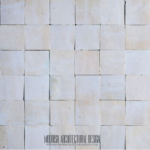 Dirty White Moroccan Tile