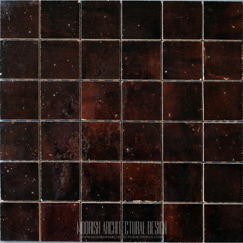 Brown Moroccan Tile