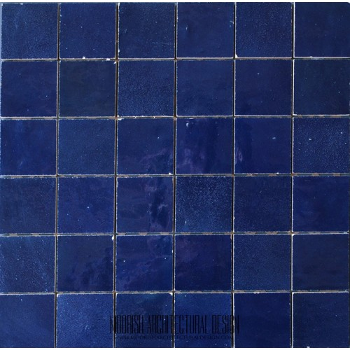 Blue Moroccan Pool Tile Blue Moorish Bathroom Tiles