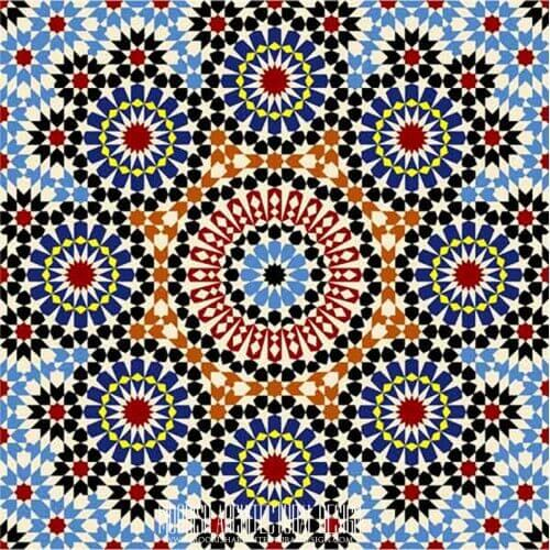 Moresque Tile 04