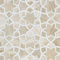 Rustic Moroccan Tile kitchen floor