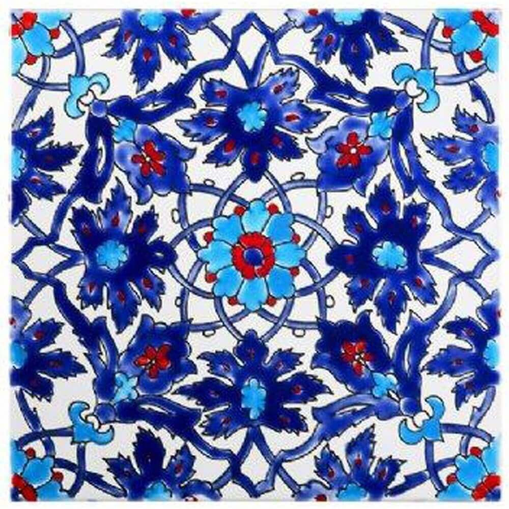 Iznik Tiles | Turkish Ceramic Tiles | Persian Tile| Ottoman Tiles