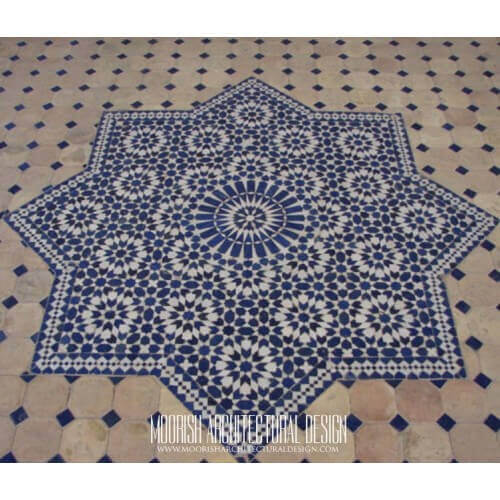 Moroccan Medallion Tile 01
