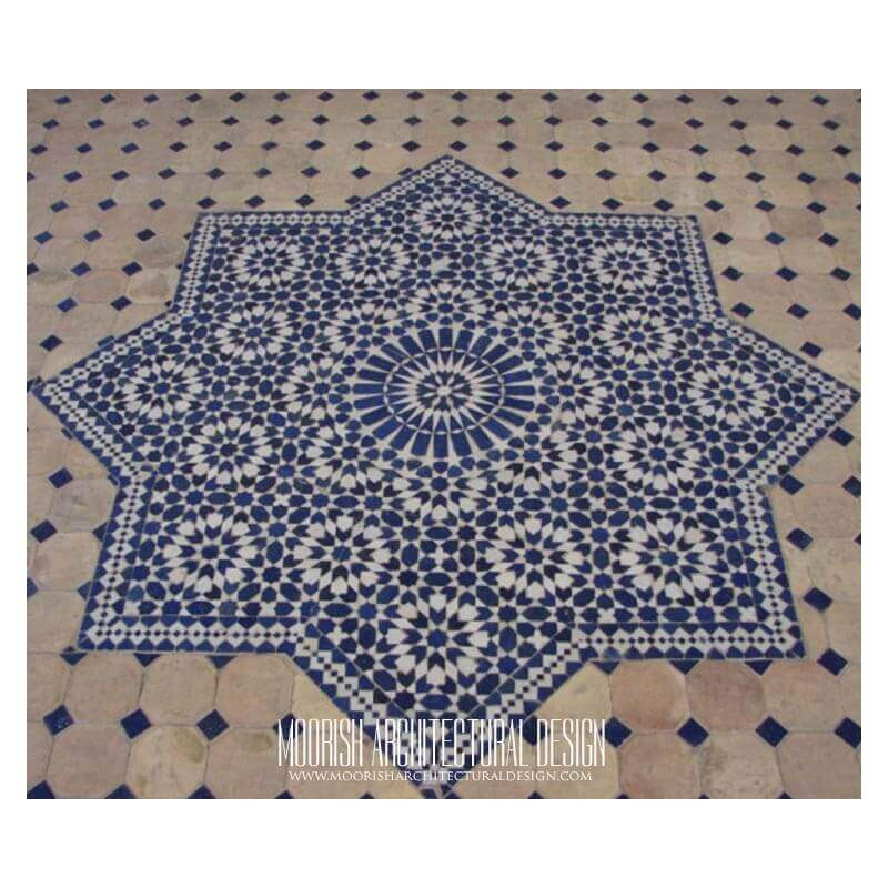 Moroccan Tile Medallion