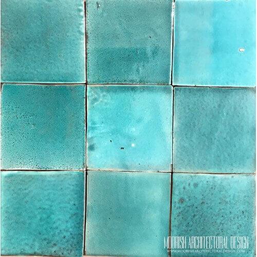 Aqua Green Pool Tiles