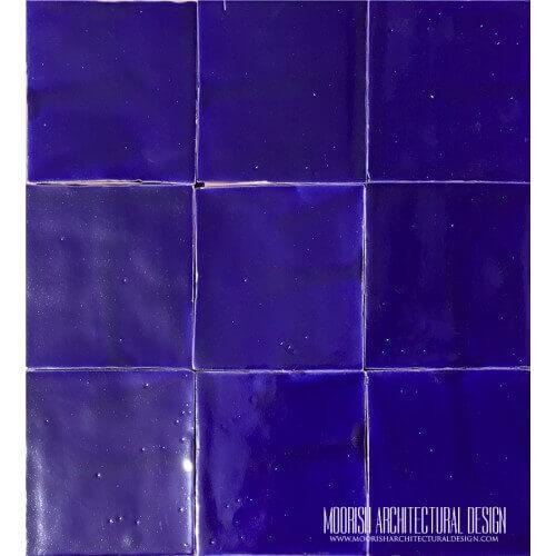 Royal Blue Pool Tiles