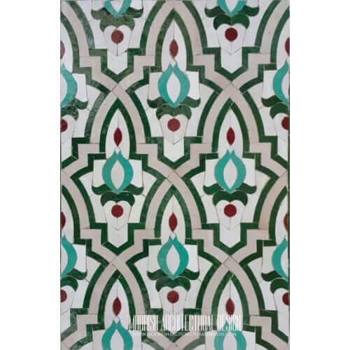 Moroccan Floor Tile Washington Dc Moorish Kitchen Ideas