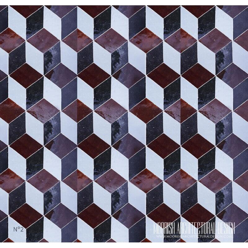 Bathroom Design Trend Moroccan Modern Tiles