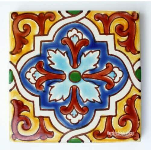 Red Mediterranean Tile