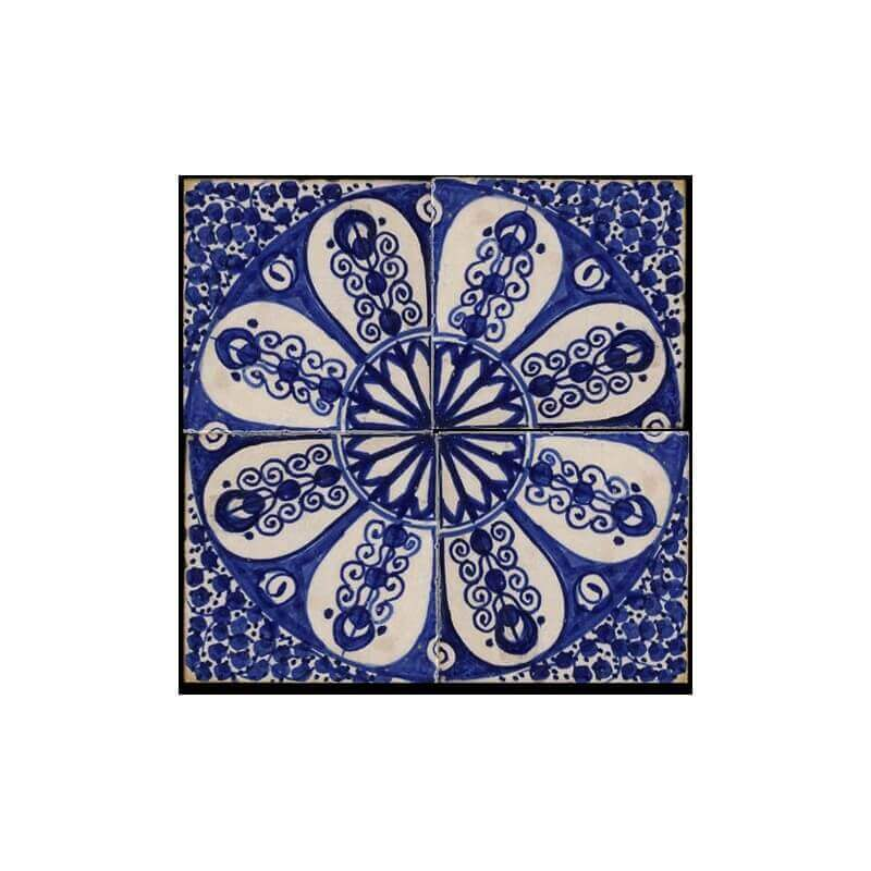 Blue Moroccan Tile San Francisco California