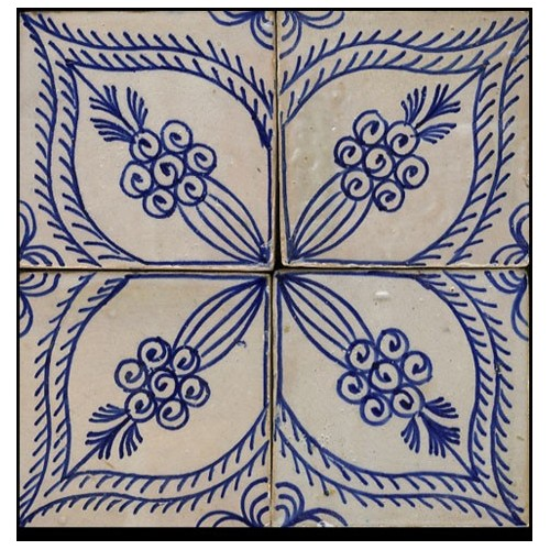 Blue Moroccan Tile Phoenix Arizona