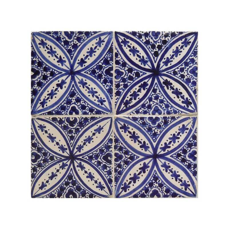 Moroccan Hand Painted Tile