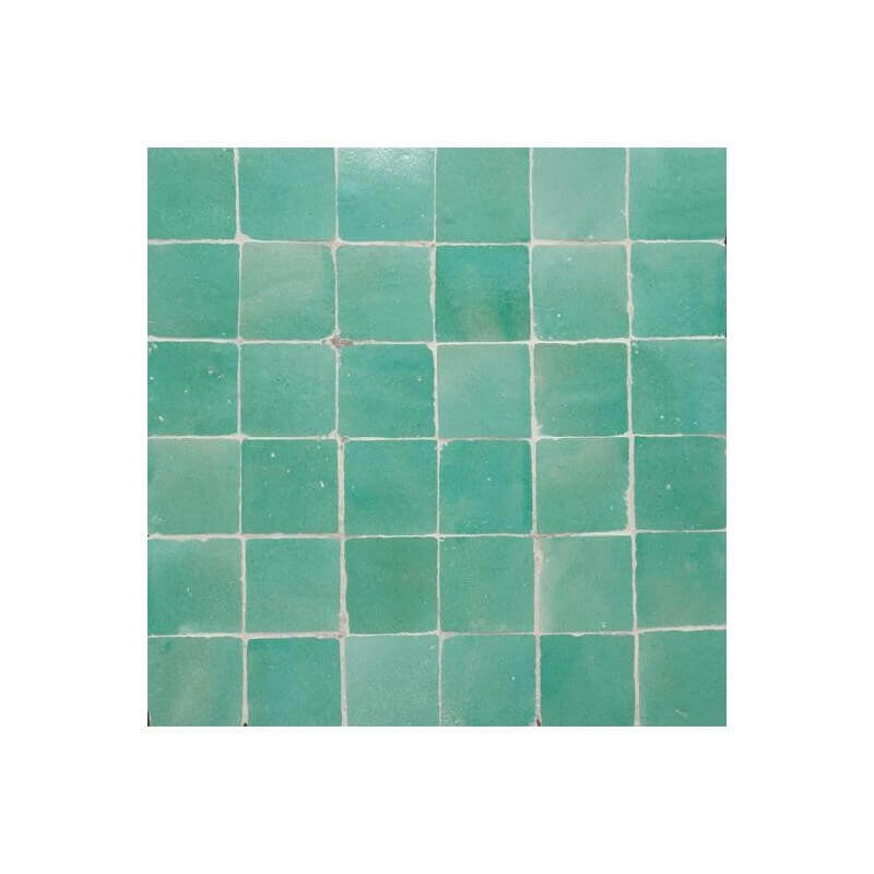 Green Moorish Tile