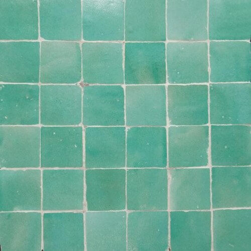 Green Moorish Tile