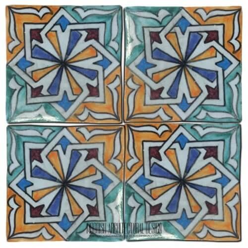 Spanish Revival Kitchen Tile
