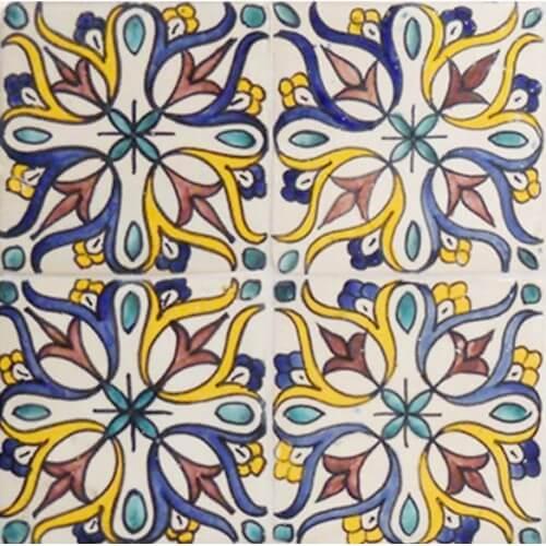 Spanish Colonial Bathroom Tile