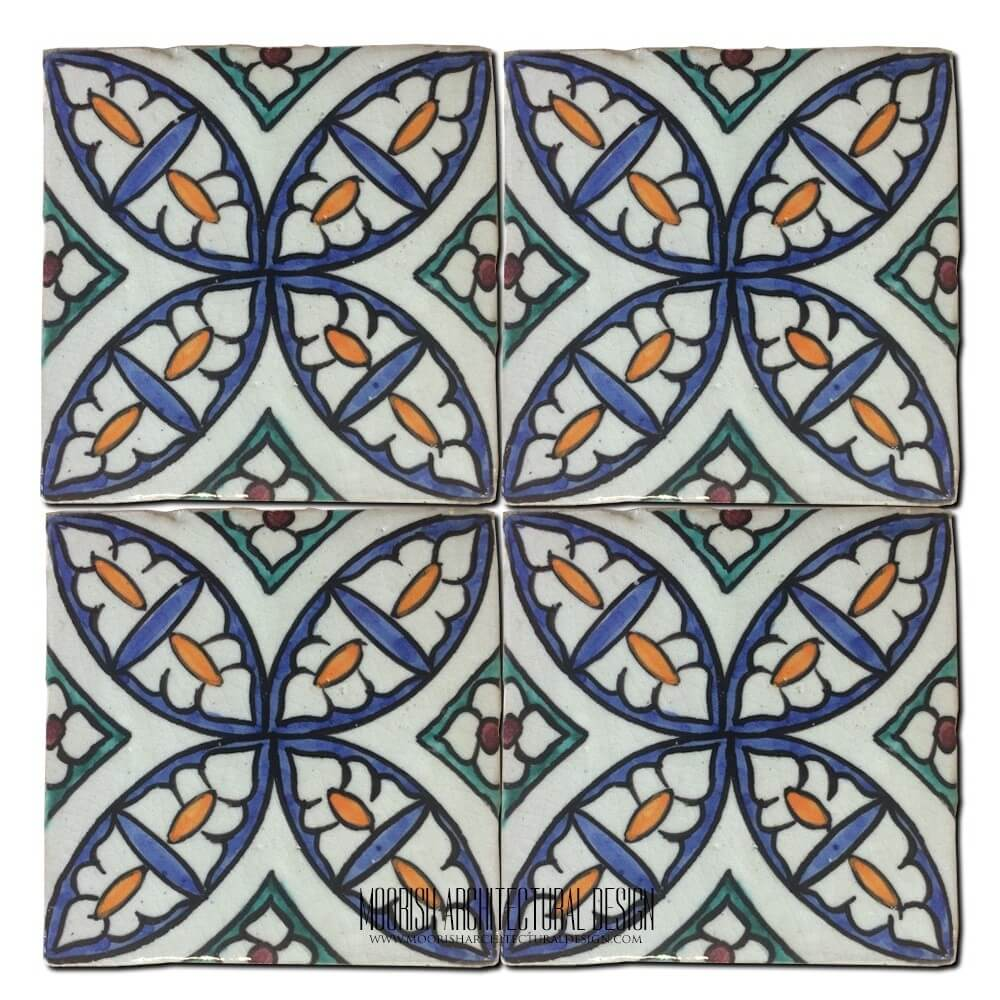 Spanish Ceramic Tiles Moroccan Tile