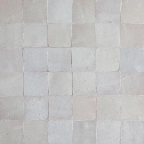 Moroccan White Tile