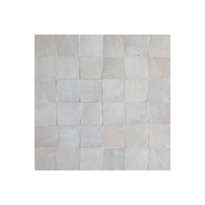 White Moroccan Tile