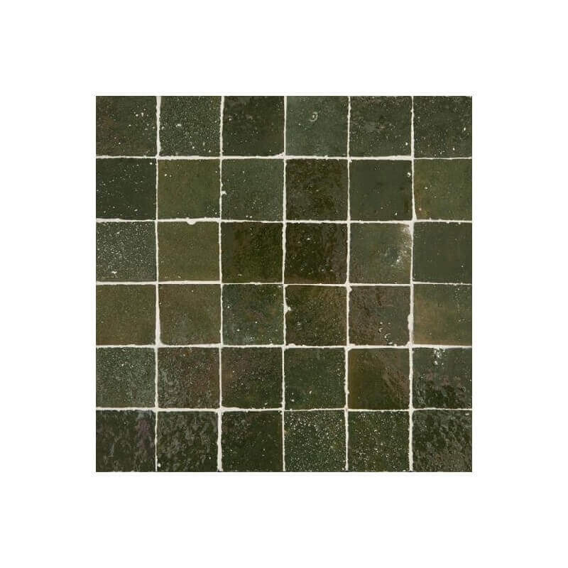 Green Moroccan Tile Los Angeles