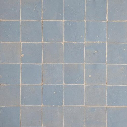 Blue Moroccan Tile Boston