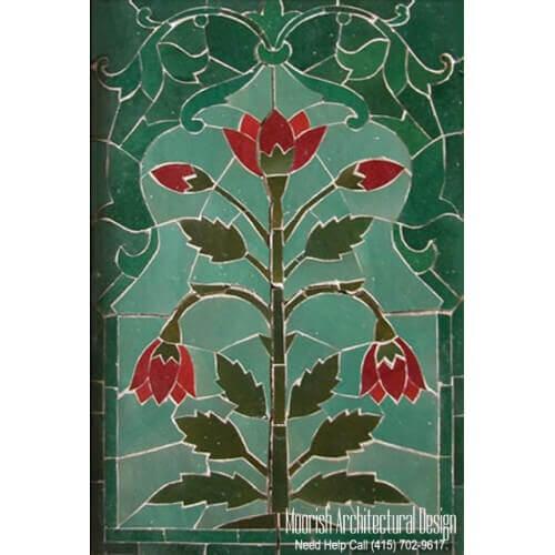 Moroccan Tile Mural 04