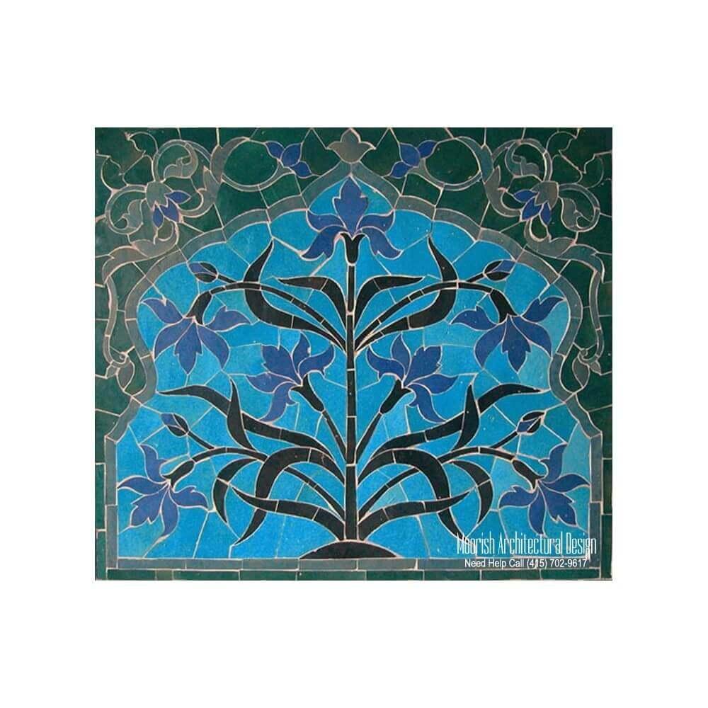 Moorish Tile Kitchen Backsplash