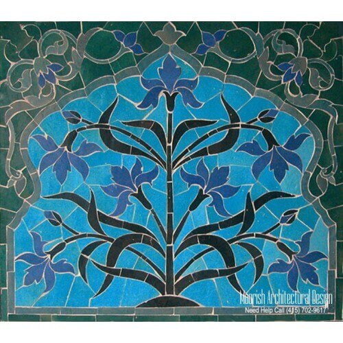 Moroccan Tile Mural 06