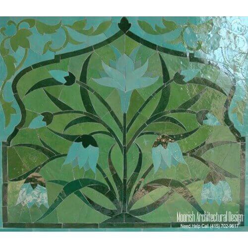 Moroccan Tile Mural 07