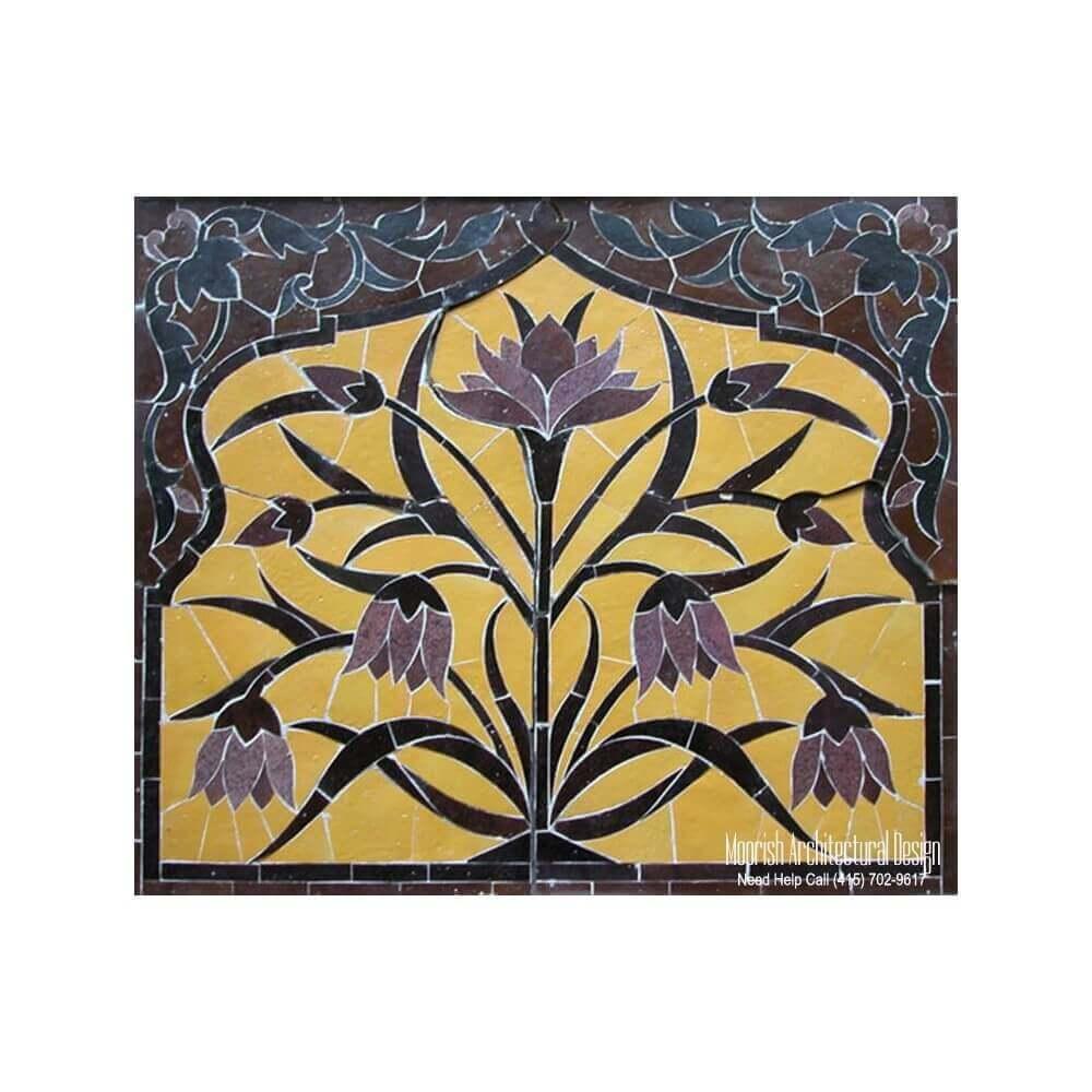 Kitchen tile mural design ideas | Kitchen backsplash Moroccan ...