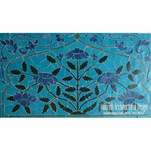 Moroccan Tile Mural 11
